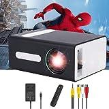 Pro Proyector Mini Proyector Portátil para Dispositivos Móviles Compatible con Jack para Auriculares USB HDMI TF AV de 3.5mm Regalo para Niños