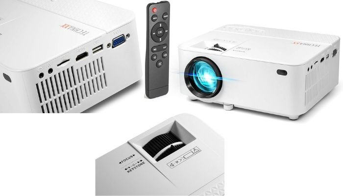 proyector con luz led