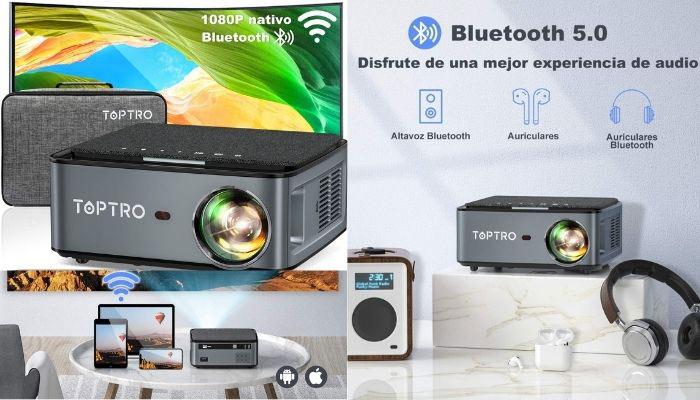 proyector tv 4k