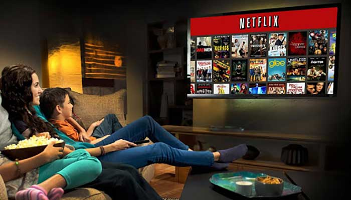 conectar proyector movil con netflix