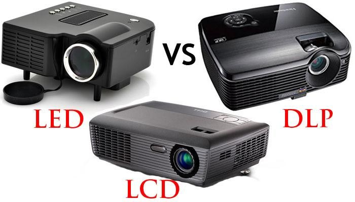 diferencias proyector led