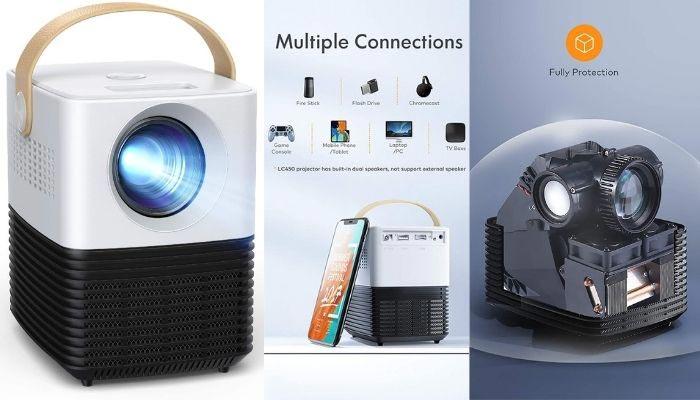 proyector led mini