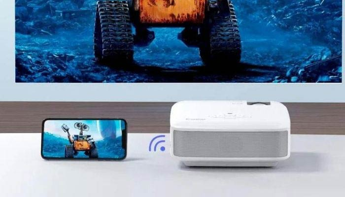 conectar movil proyector benq