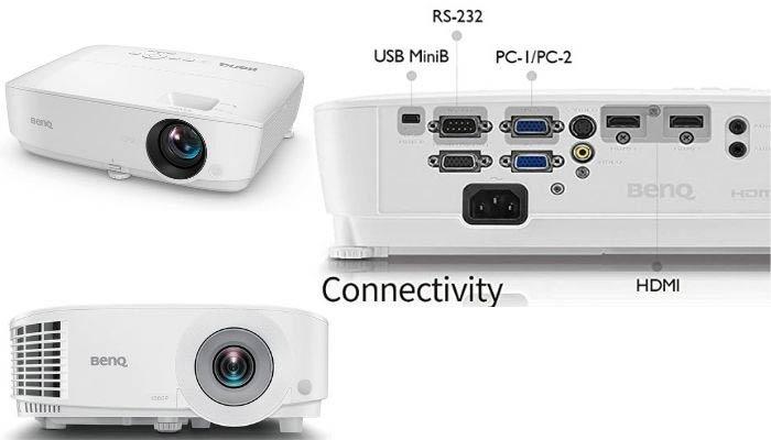 conexiones proyectores benq