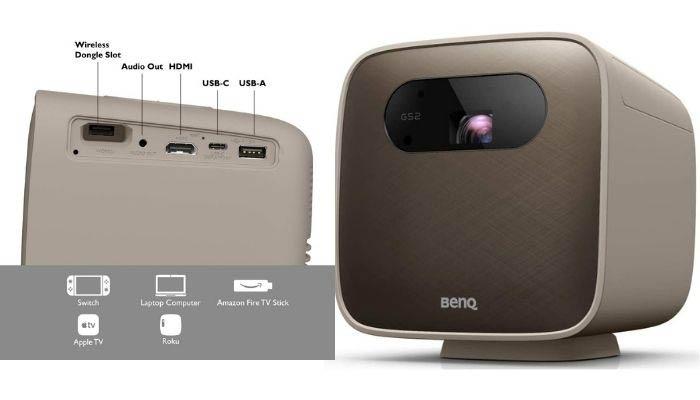 proyector benq gs2