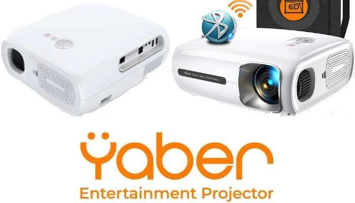 proyector portátil wifi y bluetooth