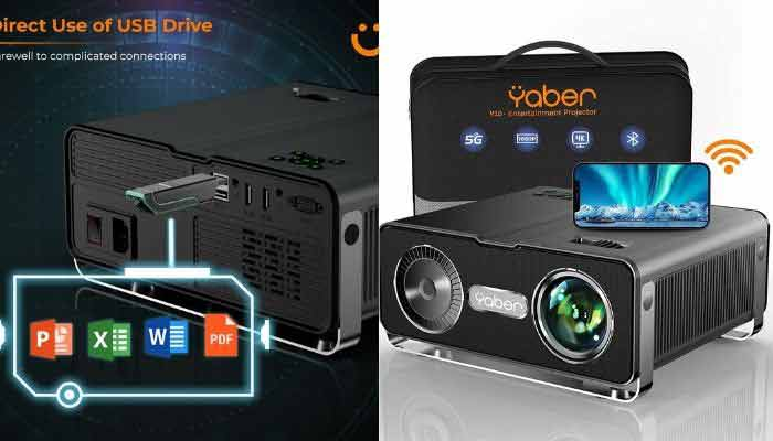 proyector bluetooth wif